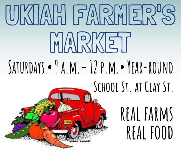 Ukiah Farmer's Market ad